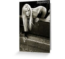 Blond Ambition Greeting Card