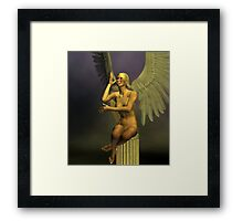 Angel Of Good Humour Framed Print