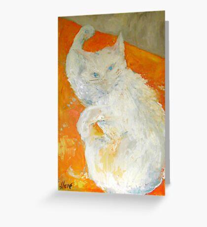 My cat Bella Greeting Card