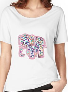 Pink Elephant Women's Relaxed Fit T-Shirt