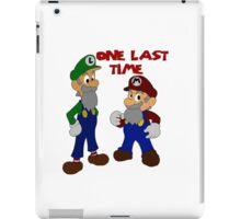 One Last Time iPad Case/Skin
