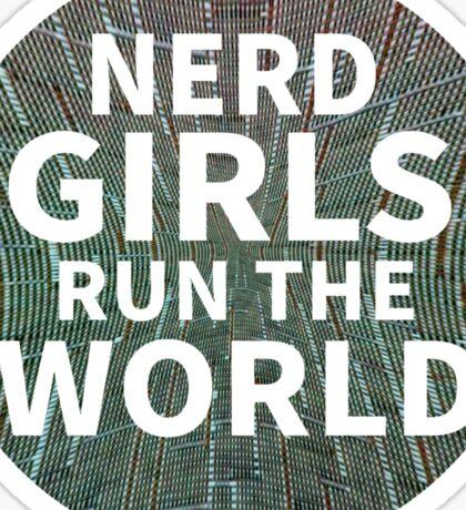 Nerd Girls Sticker