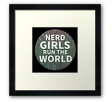 Nerd Girls Framed Print