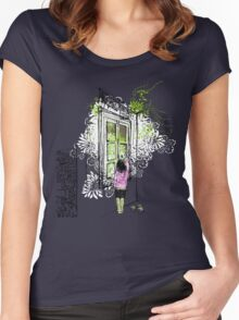 Invente ta réalité - Invent your reality Women's Fitted Scoop T-Shirt