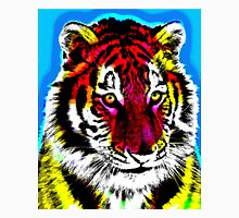 TIGER-COLOUR Women's Fitted Scoop T-Shirt
