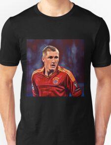 Bastian Schweinsteiger painting T-Shirt