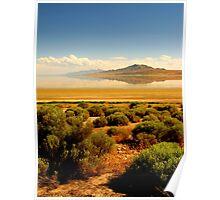 Sagebrush at the Lake Poster