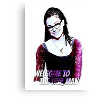 COSIMA WELCOME TO THE TRIP Canvas Print