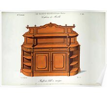 Le Garde Meuble Desire Guilmard 1839 0243 High Style Case Furniture Interior Design Poster