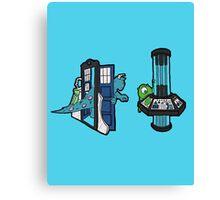 TARDIS, Inc. Canvas Print
