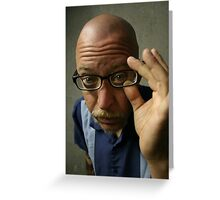 Spectacles Greeting Card