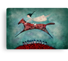 Flight of fancy Canvas Print