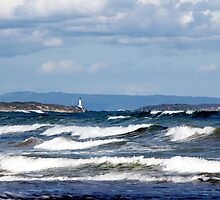 The Heads - Port Phillip Heads from Ocean Grove by TimLloyd