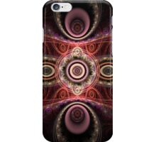 Pink and Red Patterns iPhone Case/Skin
