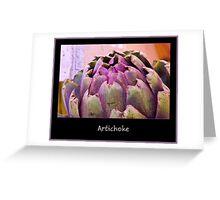 Artichoke Greeting Card