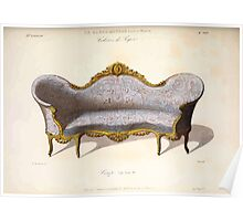 Le Garde Meuble Desire Guilmard 1839 0171 High Style Seat Furniture Interior Design Poster