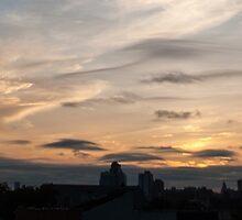 NYC Skyline by Gustavo Bernal