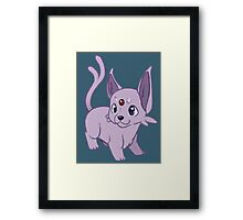 Sun Pokemon Framed Print