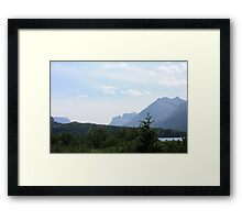 Waterton Lakes National Park Framed Print
