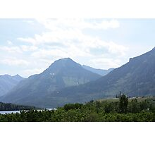 Waterton Lakes National Park Photographic Print