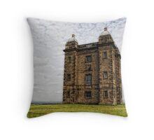 Tower. Lyme Park Throw Pillow