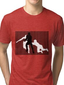 Rugby Tackle 2 Tri-blend T-Shirt