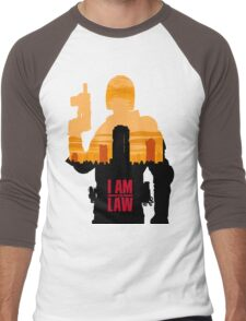 I am the Law Men's Baseball ¾ T-Shirt