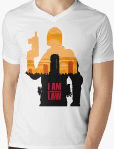 I am the Law Mens V-Neck T-Shirt