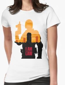 I am the Law Womens Fitted T-Shirt