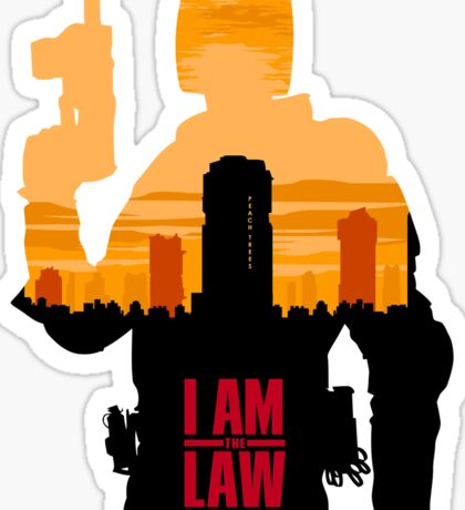 I am the Law Sticker