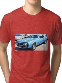 Chevy Camero Muscle Car Tri-blend T-Shirt