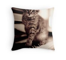 World Class Pianist... Throw Pillow