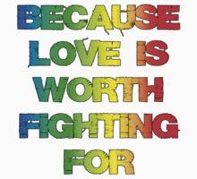 Gay Rights t shirt  by Lauren Finn