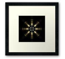 Radial Engine Framed Print