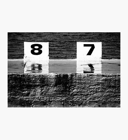 87 Photographic Print