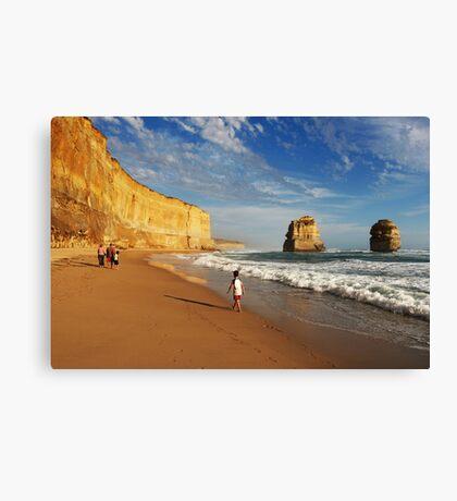 Gibsons Beach Canvas Print