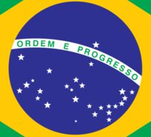 Brazilian flag Sticker