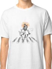 Pedestrian and Rhino Classic T-Shirt