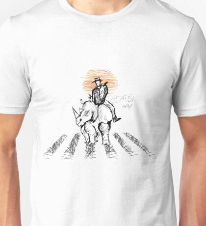 Pedestrian and Rhino Unisex T-Shirt