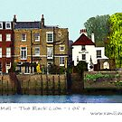 Chiswick Mall - The Black Lion Inn by Sue Porter