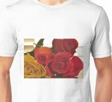 Four Colors of Roses, As Is Unisex T-Shirt