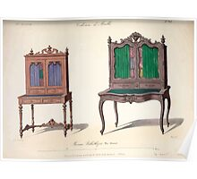 Le Garde Meuble Desire Guilmard 1839 0105 High Style Seat Furniture Interior Design Poster