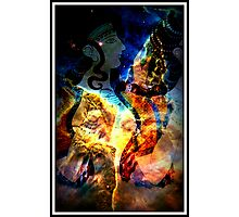 When Bull Men Lived In Labyrinths Photographic Print