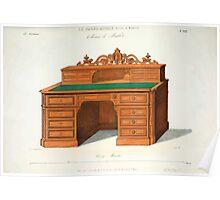 Le Garde Meuble Desire Guilmard 1839 0019 High Style Case Furniture Interior Design Poster