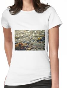 On the Beach Womens Fitted T-Shirt