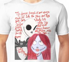 We can be Like Jack and Sally Unisex T-Shirt