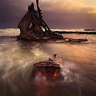Wreck of the SS. Speke by Mark Shean