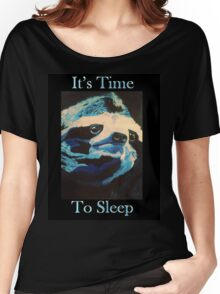 Time to Sleep Women's Relaxed Fit T-Shirt