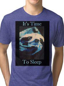 Time to Sleep Tri-blend T-Shirt