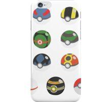 POKEBALLS SET iPhone Case/Skin
